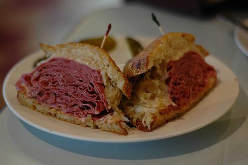 Reuben Sandwich - New York Deli, Torrance, CA